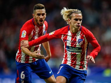 Antoine Griezman netted the winner as Atletico Madrid won their first game at the Wando Metropoitana. AFP