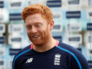 Cricket - England Press Conference - Leeds, Britain - August 23, 2017 England's Jonny Bairstow during the press conference Action Images via Reuters/Lee Smith - RC1101A77BB0