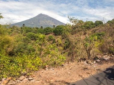 File image of Mount Agung in Bali. AP