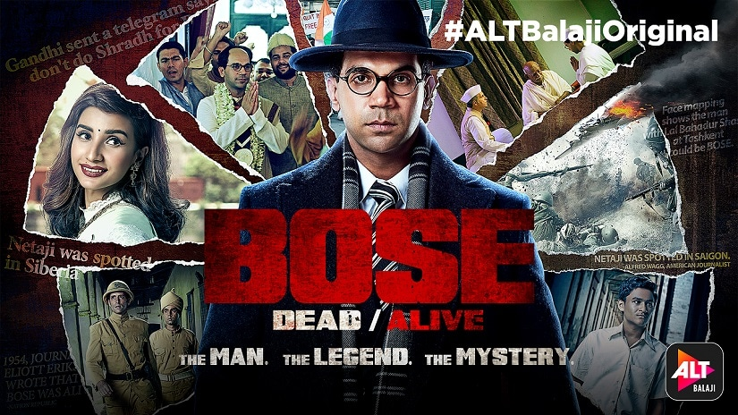 Bose: Dead/Alive — ALT Balajis new web series examines the man, and the myths