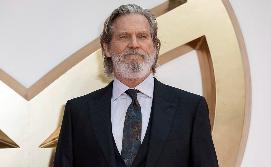 Jeff Bridges poses for photographers on arrival at the premiere of the film Kingsman: The Golden Circle, in London. Photo courtesy: Grant Pollard/AP