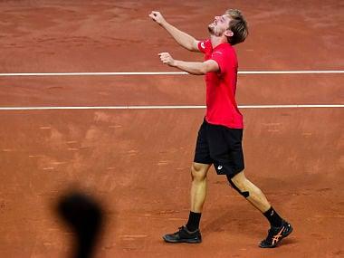 Davis Cup: David Goffin helps Belgium register comeback over Australia, set up final against France