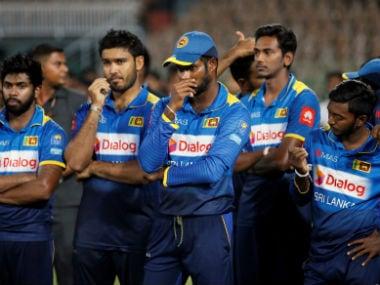 File image of Sri Lanka's limited-overs team. AP