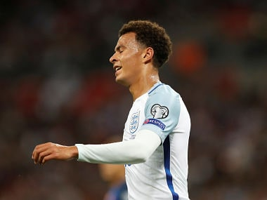 FIFA World Cup 2018 qualifiers: Englands Dele Alli banned for one game for making offensive gesture in Slovakia clash