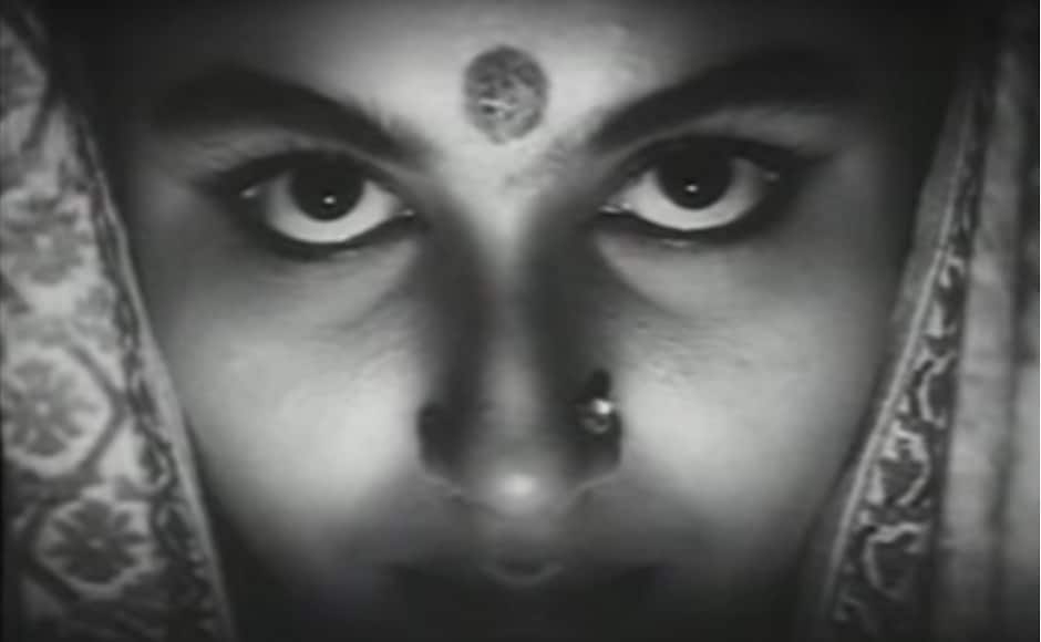 Satyajit Ray's 1960 Bengali film, Devi, features Sharmila Tagore as a newly-wed bride, Dayamoyee, in a rich Bengali household. Her father-in-law has a dream that Dayamoyeeis an incarnation of the Goddess Kali and hence starts worshipping her. This, however, takes a toll on Dayamoyee's life who eventually starts believing that she indeed is a goddess. This masterpiece of Ray is a milestone in many ways. Image courtesy: YouTube screengrab
