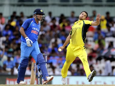 MS Dhoni and Nathan Coulter-Nile were among the players who helped shaped the course of the first ODI. AP