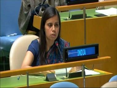 Pakistan is now Terroristan: Indias Eenam Gambhir hits back at Shahid Khaqan Abbasis maiden UNGA speech