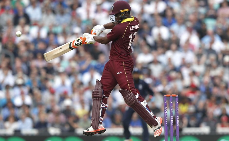 West Indies lost the 4th ODI and the series despite their best batting performance of the series, with opener Evin Lewis producing a brilliant 176 from 130 balls before he had to leave on a stretcher, retiring hurt, after hitting the ball into his own ankle and sustaining a hairline fracture.AP