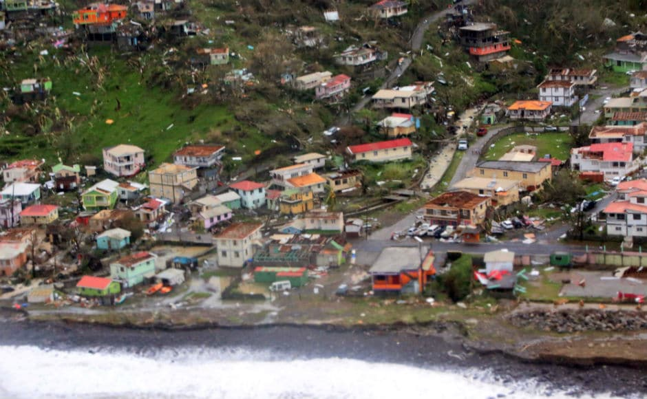 Puerto Rico remained in the throes of chaos and devastation on Thursday as the remnants of Hurricane Maria continued to dump rain on the island — up to three feet in some areas. Reuters