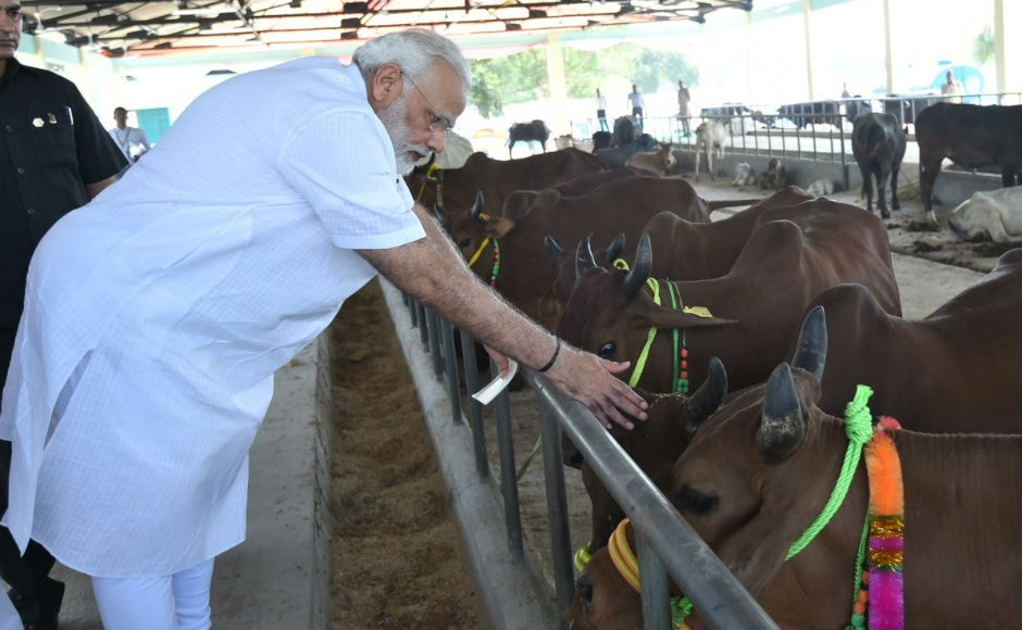 Speaking at the fair, which is being organised for the first time on 1800 acres of land in Shahanshahpur, Modi said that proper healthcare of the cattle through such initiatives, would help increase milk production in India. Twitter @BJP4India
