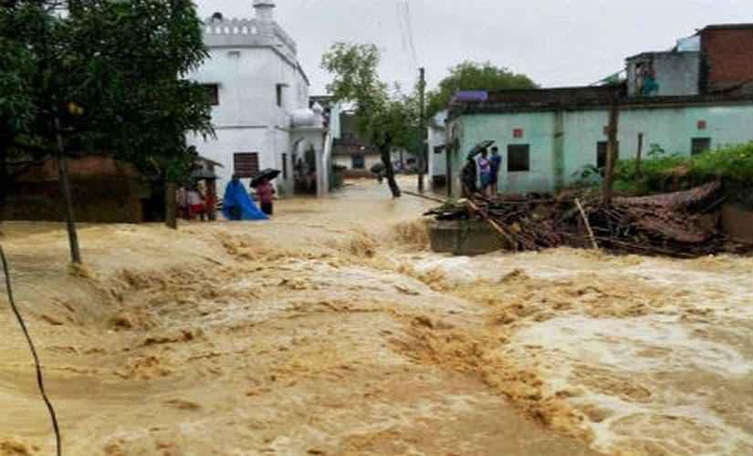 Floods in Bihar. PTI