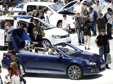 Smart and hybrid electric cars are the focus at this years Frankfurt Motor Show