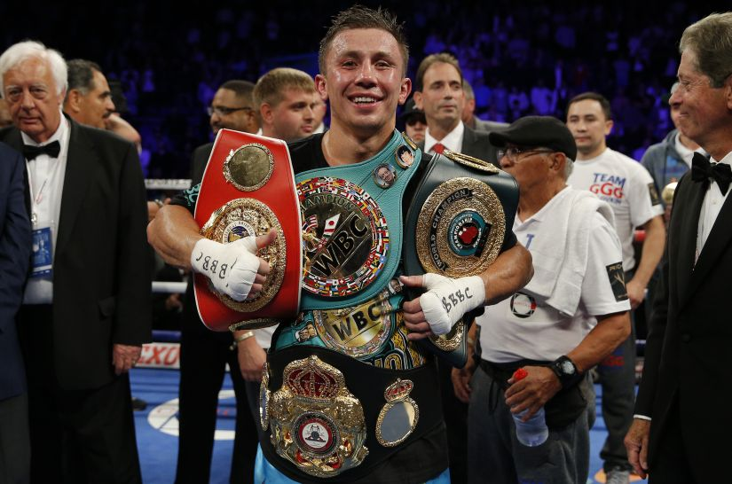 Gennady Golovkin is the undisputed WBC, IBF and IBO World Middleweight champion. Reuters