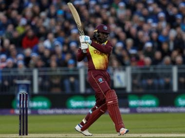 Cricket - England vs West Indies - International T20 - Emirates Riverside, Durham, Britain - September 16, 2017 West Indies' Chris Gayle in action Action Images via Reuters/Lee Smith - RC1BB3984730