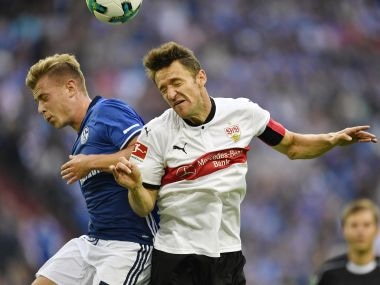 Bundesliga: Stuttgarts Christian Gentner on way to recovery after suffering facial fractures in horror collision
