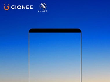 The Gionee M7 invite for 25 September
