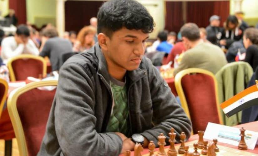 Harsha Bharathkoti is having the tournament of his life. John Saunders