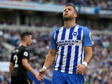 Premier League: Brighton striker Tomer Hemed handed three-match ban for violent conduct