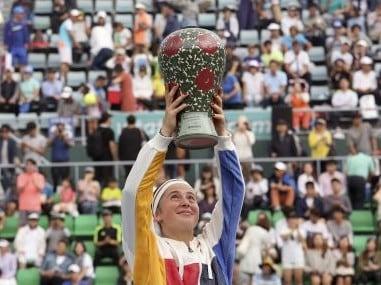 Korea Open: Jelena Ostapenko defeats Beatriz Haddad Maia to win first hardcourt title