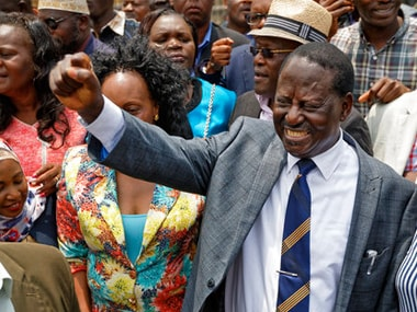 Celebrations erupt in Kenya as Supreme Court declares presidential election result as invalid, demands re-run within 60 days