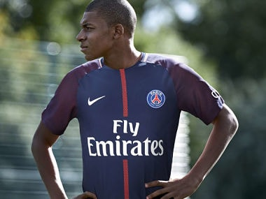 File image of Kylian Mbappe. Image courtesy: Twitter @PSG_English