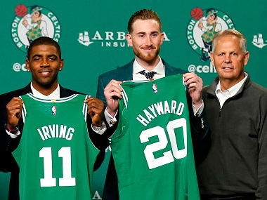 NBA: Boston Celtics' Kyrie Irving says he requested trade from Cleveland Cavaliers to optimise his potential