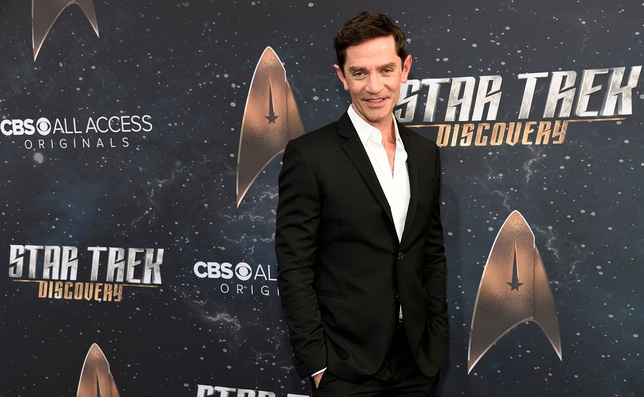 James Frain, another cast member, poses at the premiere in Los Angeles. Photo courtesy: Chris Pizzello/Invision/AP
