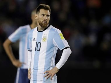 File image of Lionel Messi. AP