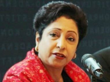 Pakistan's Permanent Representative to UN Maleeha Lodhi. News18