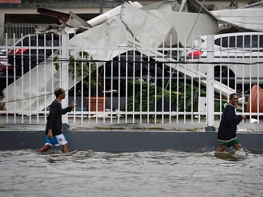 Puerto Rico battles floods after Hurricane Maria ravages island; death toll climbs to 33