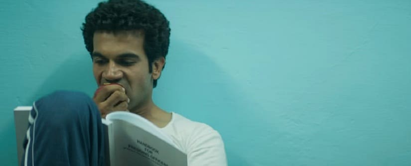 Rajkummar Rao in a still from Newton. YouTube