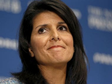US Ambassador to UN Nikki Haley. Reuters