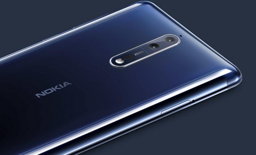The Nokia 8 dual-camera
