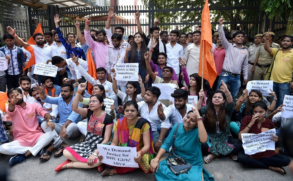 The two student organisations had separately announced their plans to stage demonstrations outside the office of the ministry of human resource development (MHRD) in New Delhi. PTI