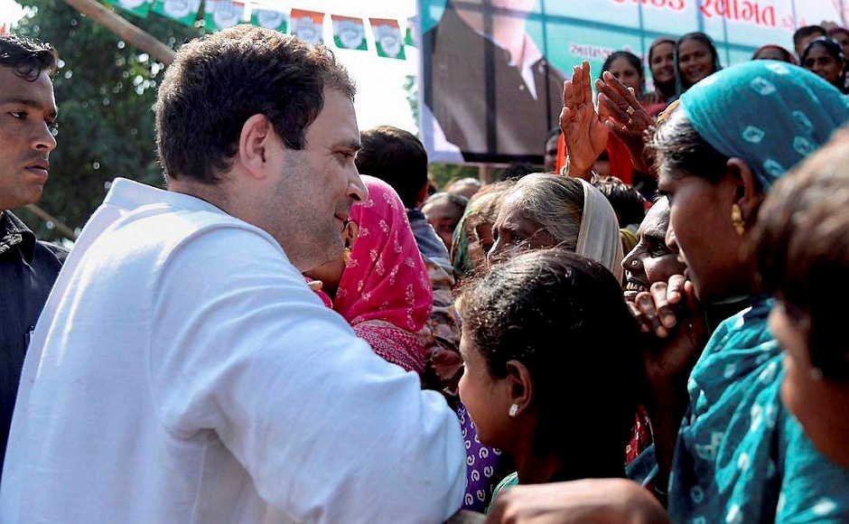 Eyeing the support of the influential Patel or Patidar community, Congress vice-president Rahul Gandhi criticised the Gujarat government for not handling the Patel reservation issue well. PTI