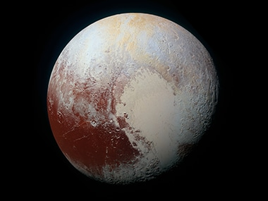 Pluto's more prominent surface features get official names honouring yesteryear's pioneers