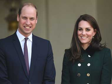 Prince William and Duchess of Cambridge Kate expecting their third child