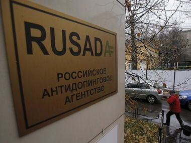 Russian Anti-Doping Agency (RUSADA) building in Moscow. Reuters