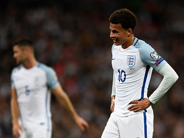 FIFA 2018 World Cup qualifiers: Dele Allis offensive gesture in match against Slovakia could land him in trouble