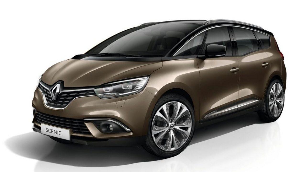 The Renault Grand Scenic MPV