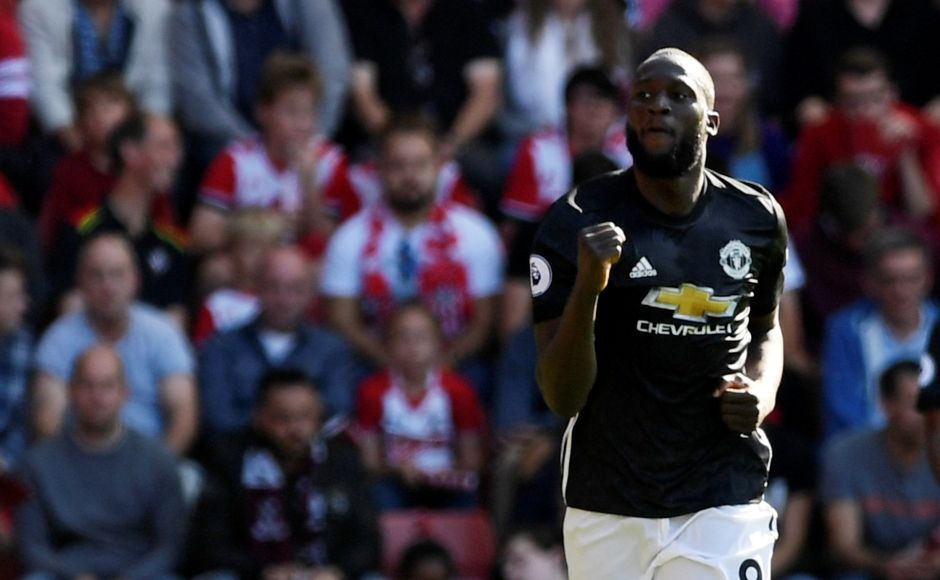 Manchester United remained level on points with City with a hard-fought 1-0 win over Southampton thanks to Romelu Lukaku's first-half strike. Reuters