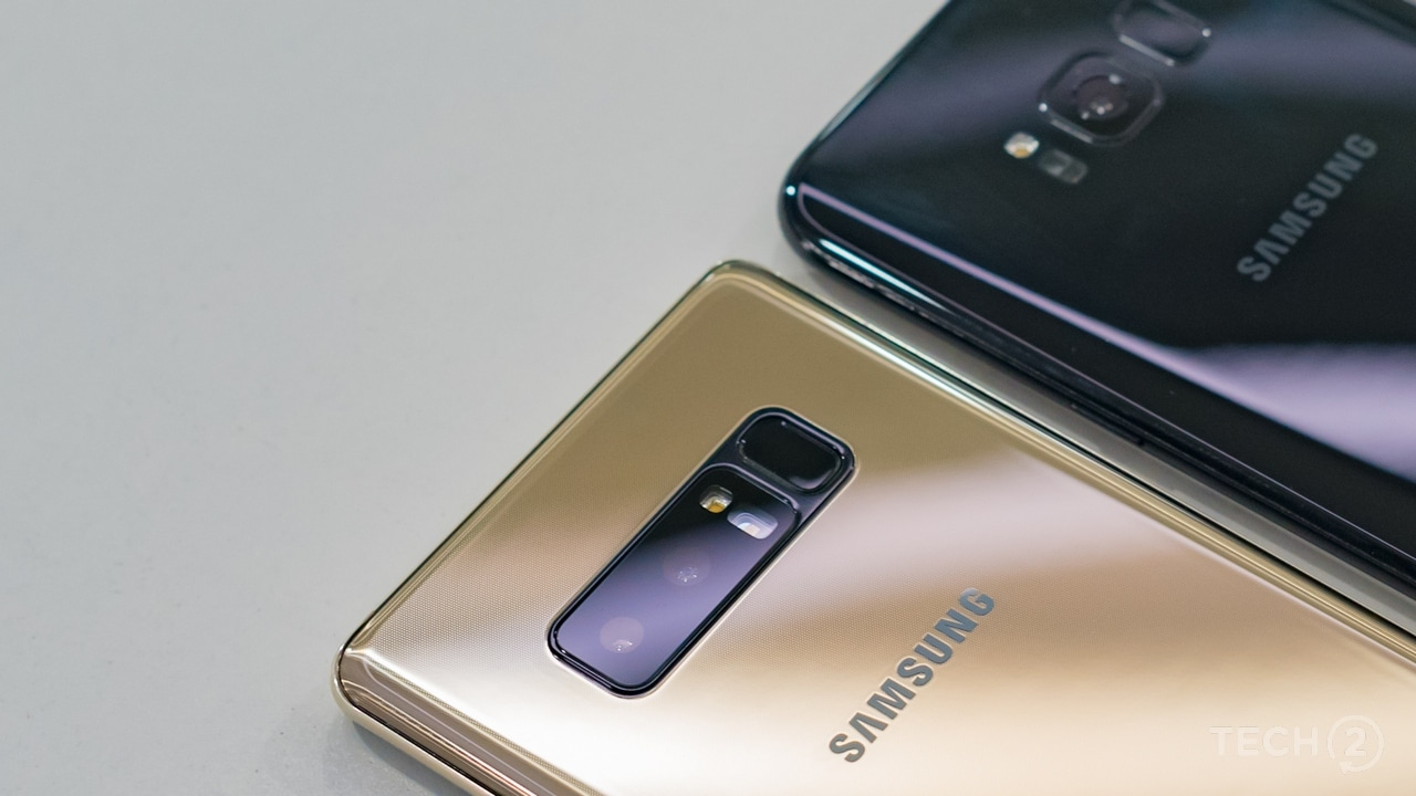 There are dual cameras and then there's the Samsung Galaxy Note 8