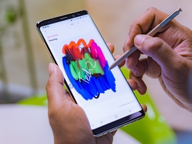 The Samsung Galaxy Note 8. Image: Tech2/Rehan Hooda