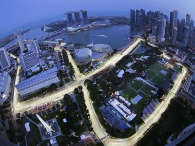 Singapore Grand Prix: Tata Communications trial worlds first live 360-degree video in Formula One race