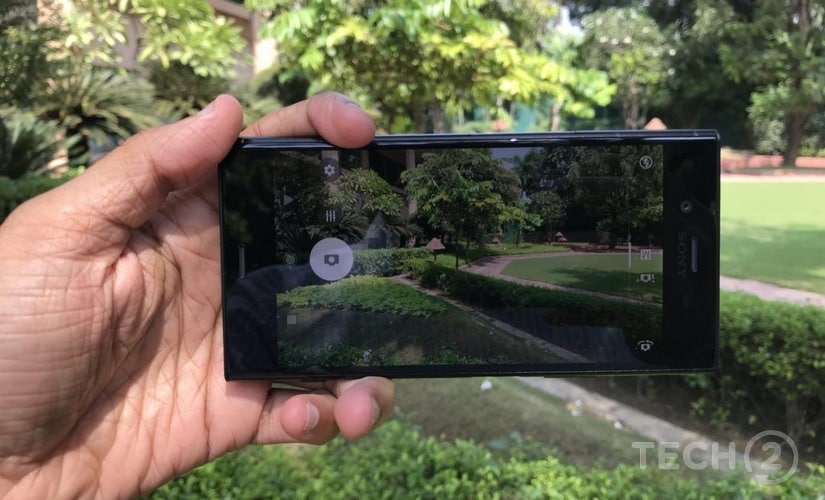 The camera app has some interesting new features