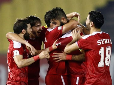 FIFA World Cup 2018 qualifiers: Defying expectations, war-torn Syria on cusp of securing Russia berth