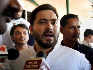 File image of Tejashwi Yadav. PTI