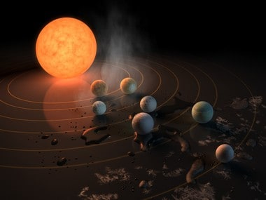 TRAPPIST -1 has seven planets in its exo-system. NASA
