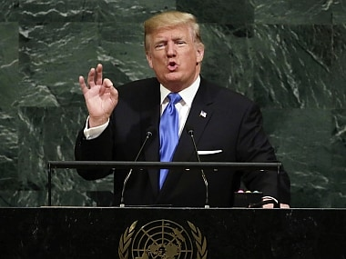 Donald Trump speech at UNGA: Fiery biblical rhetoric on North Korea shows were nearing point of no return