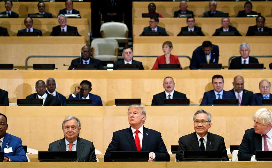 Facing an escalating nuclear threat from North Korea and the mass flight of minority Muslims from Myanmar, world leaders gather at the United Nations starting Monday to tackle these and other tough challenges, from the spread of terrorism to a warming planet. AP